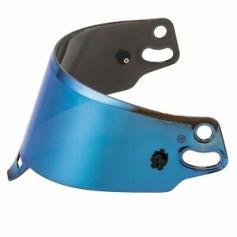 Sparco Helmet Visor - IRIDIUM BLUE