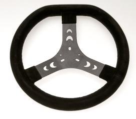 Steering Wheel - 320mm - Flat Top - Black
