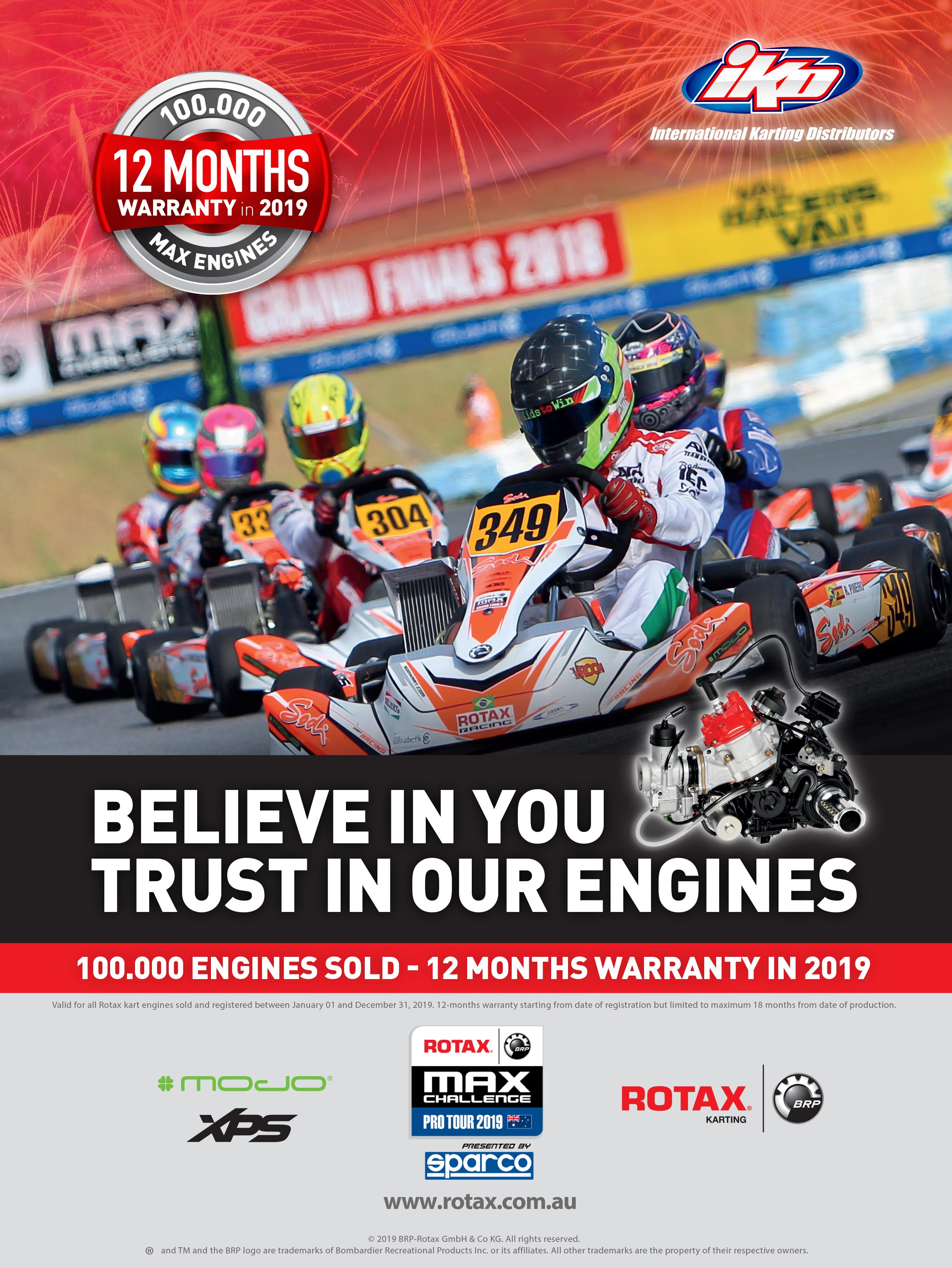 12 MONTH WARRANTY ON YOUR NEW ROTAX ENGINE IN 2019 | News